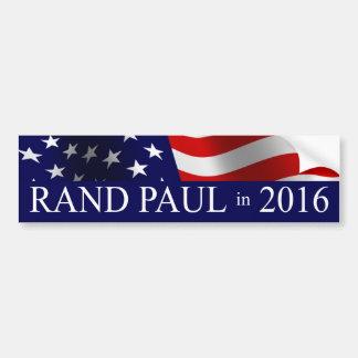 Autocollant De Voiture Président 2016 de Paul de couche-point