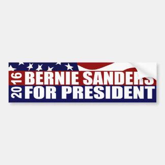 Autocollant De Voiture Président 2016 de ponceuses de Bernie