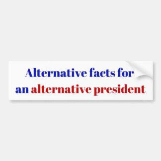Autocollant De Voiture Président alternatif