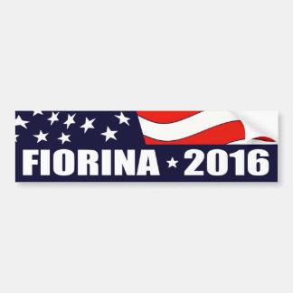 Autocollant De Voiture Président de Carly Fiorina en 2016
