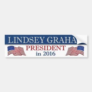 Autocollant De Voiture Président de Lindsey Graham en 2016