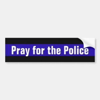 Autocollant De Voiture Priez pour la police