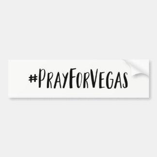 Autocollant De Voiture Priez pour l'adhésif pour pare-chocs de Vegas