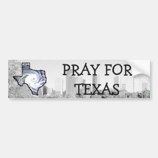 Autocollant De Voiture Priez pour le Texas, adhésif pour pare-chocs de