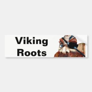 Autocollant De Voiture Racines de Viking de Suédois