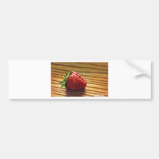 Autocollant De Voiture Rayure de fraise