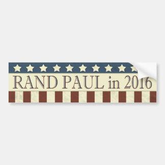 Autocollant De Voiture Rayures de président 2016 étoiles de Paul de