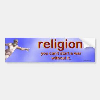Autocollant De Voiture religion