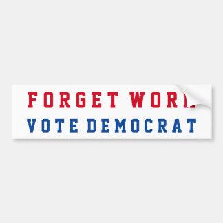Autocollant De Voiture Républicain conservateur drôle | Anti-Démocrate