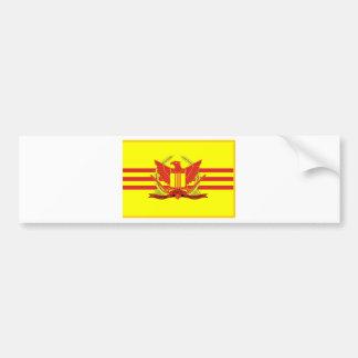 Autocollant De Voiture République de drapeau de forces militaires du