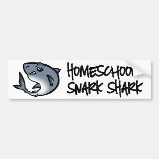 Autocollant De Voiture Requin de Homeschool Snark