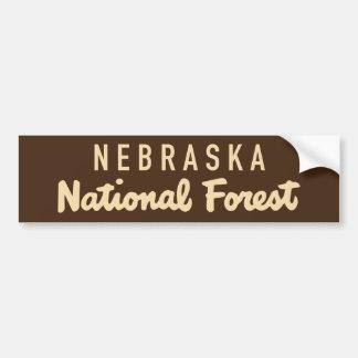 Autocollant De Voiture Réserve forestière du Nébraska