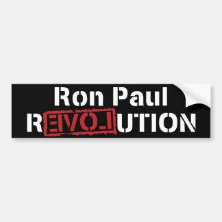 Autocollant De Voiture Révolution de Ron Paul