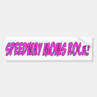 Autocollant De Voiture Roche de MAMANS de speed-way