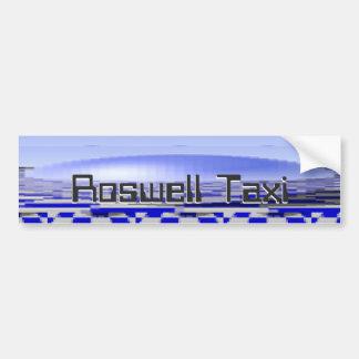 Autocollant De Voiture Roswell plaisante taxi
