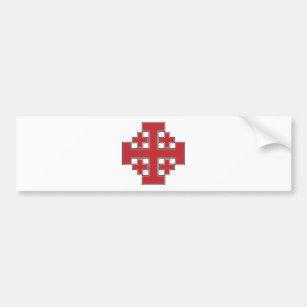 autocollants stickers pour voiture croix rouge. Black Bedroom Furniture Sets. Home Design Ideas