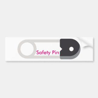 Autocollant De Voiture #SafetyPin d'adhésif pour pare-chocs de goupille