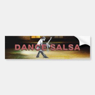Autocollant De Voiture Salsa SUPÉRIEUR de danse