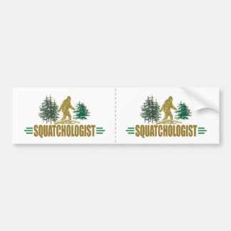 Autocollant De Voiture Sasquatch drôle | le grand pied | croient !