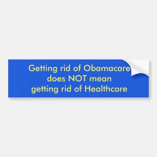 Autocollant De Voiture Se débarasser d'Obamacare