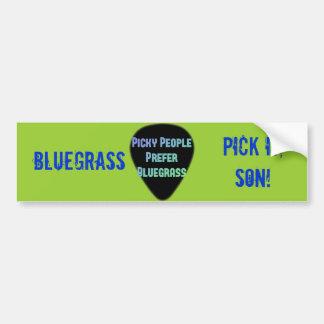 Autocollant De Voiture Sélection de Bluegrass il fils !