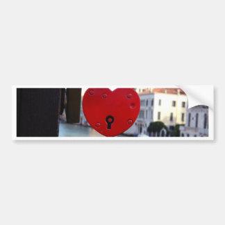 Autocollant De Voiture serrure d'amour à Venise