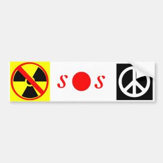 Autocollant De Voiture SOS Japon