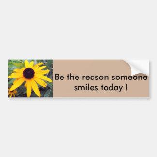 """Autocollant De Voiture """"Soyez la raison que quelqu'un sourit aujourd'hui"""""""