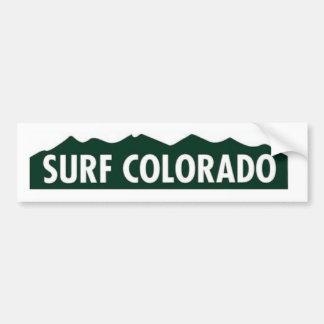 "Autocollant De Voiture SURF LE COLORADO LE COLORADO DRÔLE ""du Colorado de"