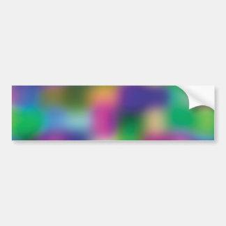 Autocollant De Voiture Tache floue fuchsia de couleur