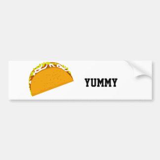 Autocollant De Voiture Taco délicieux