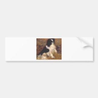 Autocollant De Voiture Tama le chien japonais par Pierre-Auguste Renoir