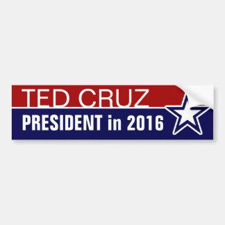Autocollant De Voiture Ted Cruz en 2016