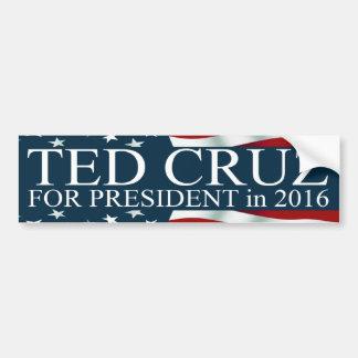 Autocollant De Voiture Ted Cruz pour le président 2016
