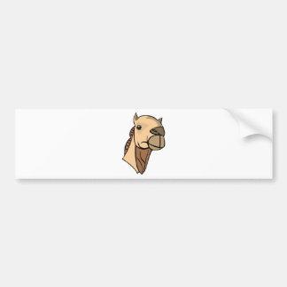Autocollant De Voiture Tête de chameau
