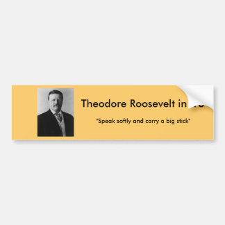 Autocollant De Voiture Theodore Roosevelt pour le président