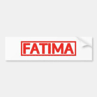 Autocollant De Voiture Timbre de Fatima