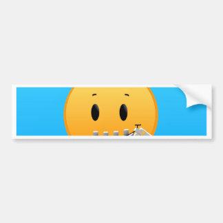 Autocollant De Voiture Tirette Emoji