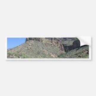 Autocollant De Voiture Traînée rocheuse d'Apache