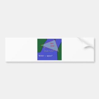 Autocollant De Voiture Triangle des Bermudes : la théorie