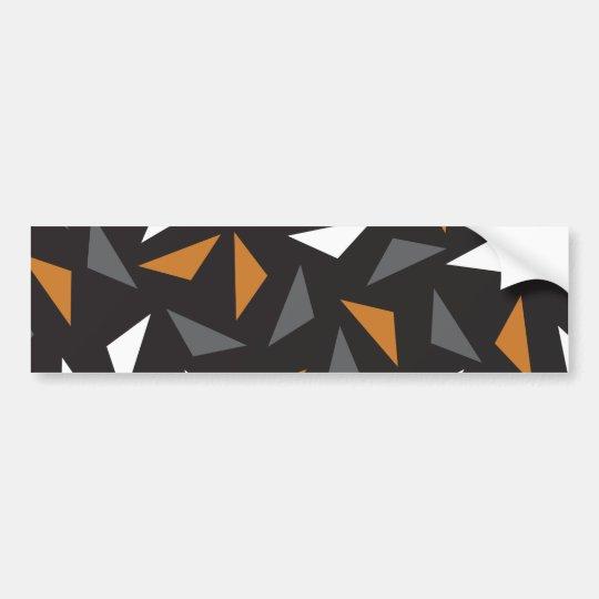 Autocollant De Voiture Triangles Animated