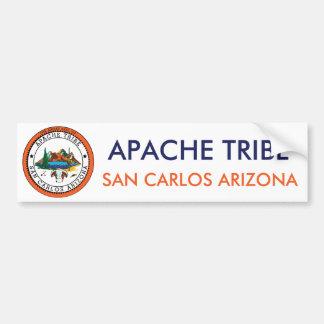 Autocollant De Voiture Tribu São Carlos Arizona d'Apache