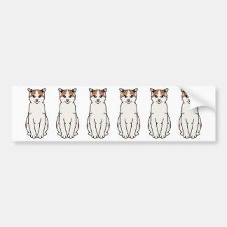 Autocollant De Voiture Turkish Van Cat Cartoon