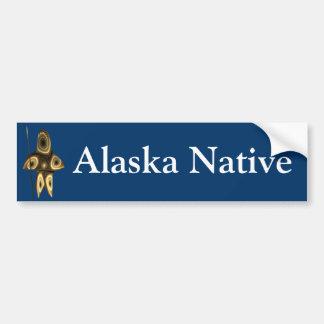 Autocollant De Voiture Tuvaaq - indigène de l'Alaska