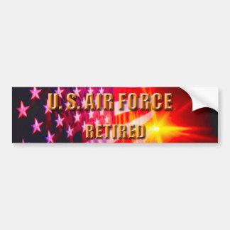 Autocollant De Voiture U.S. Adhésif pour pare-chocs de l'Armée de l'Air