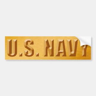 Autocollant De Voiture U.S. Adhésif pour pare-chocs de marine