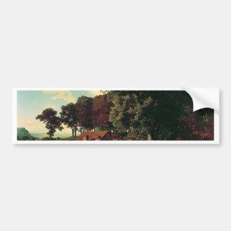 Autocollant De Voiture Un moulin rouillé par Bierstadt Albert
