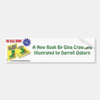 Autocollant De Voiture Un nouveau livre par Crawford et Osborn (artiste)