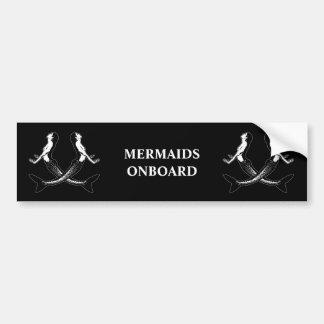 Autocollant De Voiture Une vie mermaids_3 de pirates