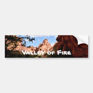 Autocollant De Voiture Vallée du feu Nevada